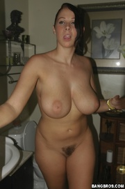 Naked in batroom young the