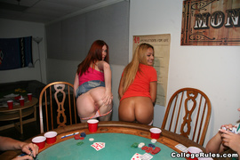 anal, poker, table, teen