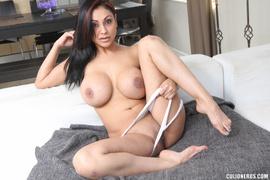 beautiful, latina, tits, white
