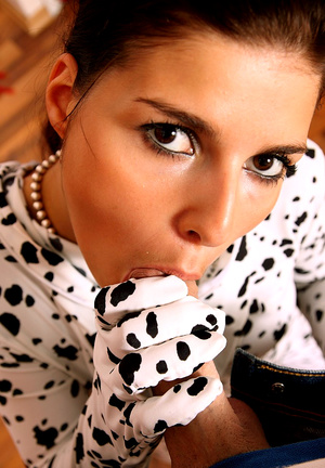 Awesome babe Jane Black in dalmatian sui - XXX Dessert - Picture 6