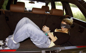 Chained and blindfolded teen Aneta get m - XXX Dessert - Picture 2