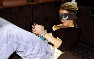Chained and blindfolded teen Aneta get m - XXX Dessert - Picture 3