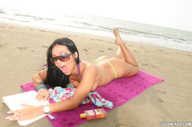 beach, latina, sex, teen