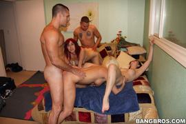 amateur, group sex, pornstars, red head