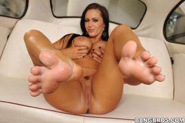 big tits, foot, porn star, toes