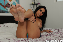 bed, foot, footjob, massage