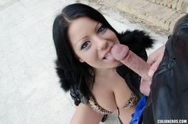 18+, latina, titty fuck, tragar