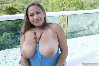 huge melon breast