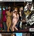 Gag-balled naked slave babes worshipping kinky Arab sheikh