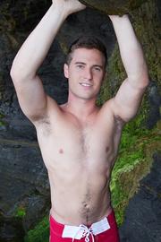 good-looking gay dude posing