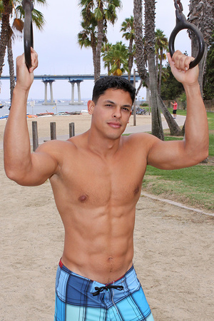 Muscular latino dude Carlos loves sport  - XXX Dessert - Picture 8