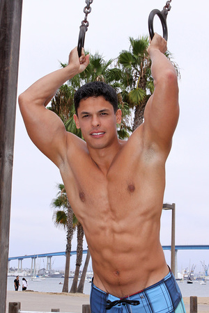 Muscular latino dude Carlos loves sport  - XXX Dessert - Picture 9