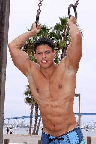 muscular latino dude carlos