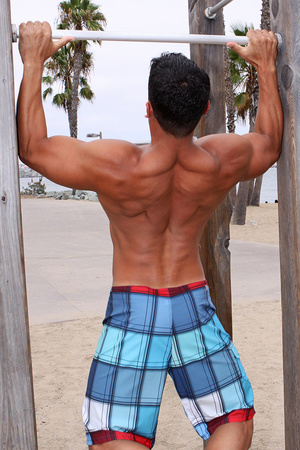 Muscular latino dude Carlos loves sport  - XXX Dessert - Picture 11