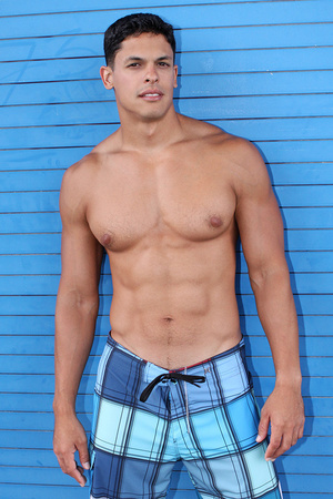 Muscular latino dude Carlos loves sport  - XXX Dessert - Picture 16