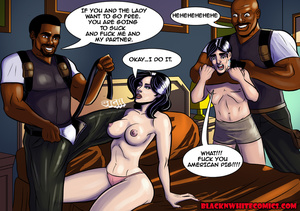 Black cops fucking variously brunette bu - XXX Dessert - Picture 3