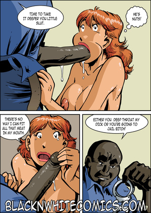Big black cop fucking red bitch's slutty - XXX Dessert - Picture 1