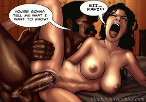 Horny black guy stretches white cunt wit - XXX Dessert - Picture 4