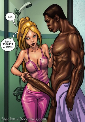 Ponytailed chick meets a black dude with - XXX Dessert - Picture 3