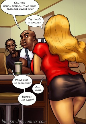 Ponytailed chick meets a black dude with - XXX Dessert - Picture 6