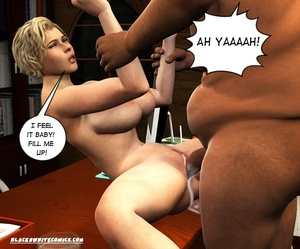 Black blimp with huge cock cumming into  - XXX Dessert - Picture 5