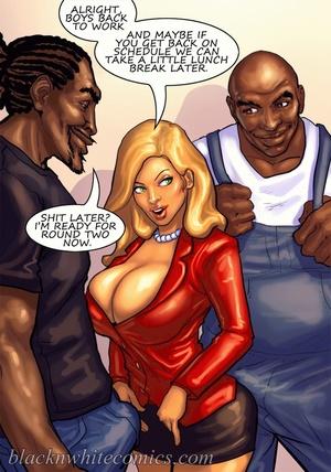 Bodacious busty bitch enjoys threesome w - XXX Dessert - Picture 6