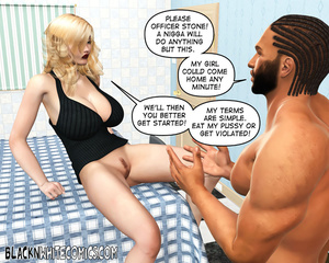 Blonde bitch begging black dude to drill - XXX Dessert - Picture 4