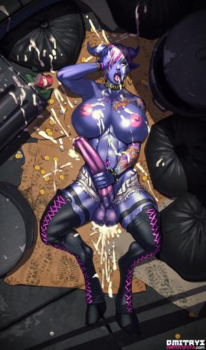 Muscular tranny enjoys her new fucking m - XXX Dessert - Picture 3