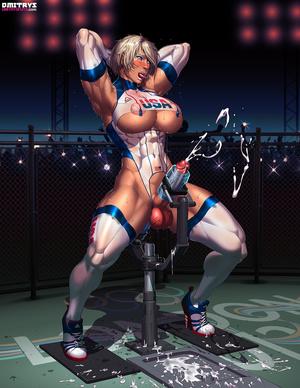 Muscular tranny enjoys her new fucking m - XXX Dessert - Picture 5