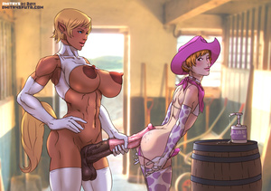 Fairy shemale with horse cock and tail p - XXX Dessert - Picture 2