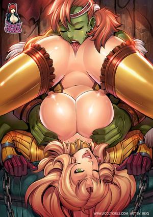 Green fairies licking her blonde friend' - XXX Dessert - Picture 3