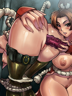 Wonderful anime girls getting fucked hard in various - Picture 4