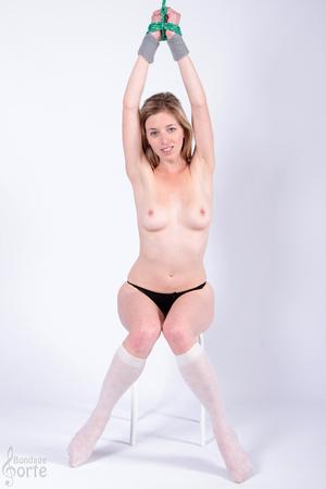 Girl next door beauty gets to be tied up - XXX Dessert - Picture 9