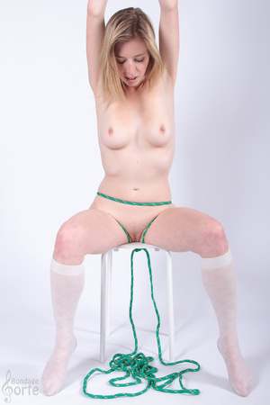 Girl next door beauty gets to be tied up - XXX Dessert - Picture 11