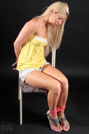 Playful blonde slut teases with her sens - XXX Dessert - Picture 5