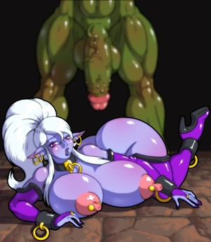 Big green monster pounding variously pur - XXX Dessert - Picture 5