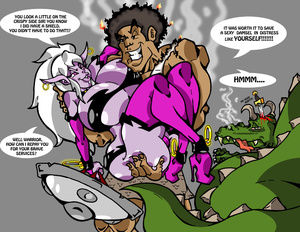 Lustful purple fairy adores having huge  - XXX Dessert - Picture 2