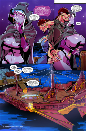 Horny drunk pirates gangbanging purple b - XXX Dessert - Picture 3
