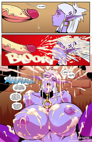 Old fart fucking hard sexy purple fairy - XXX Dessert - Picture 5