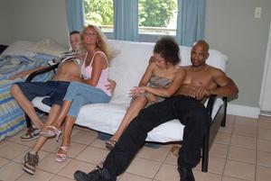 Rich MILF wife treats young horny husban - XXX Dessert - Picture 4