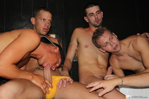 Multiple gay butt fucking and hard cock  - Picture 4