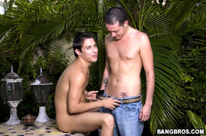 Cute gay boy loves to suck dick before b - XXX Dessert - Picture 4