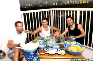 Private gay party for three with hot dic - XXX Dessert - Picture 3