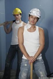 two cute gay men
