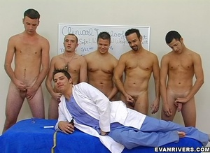 Two horny men get undressed to lick and  - XXX Dessert - Picture 9