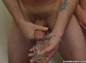 Two horny men get undressed to lick and  - XXX Dessert - Picture 11