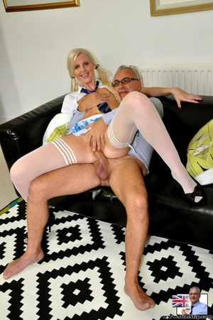 Young slender blonde sucks thick dick be - XXX Dessert - Picture 12