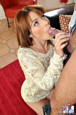 Hot sexual action as horny red hair knee - XXX Dessert - Picture 4
