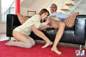 Hot sexual action as horny red hair knee - XXX Dessert - Picture 5