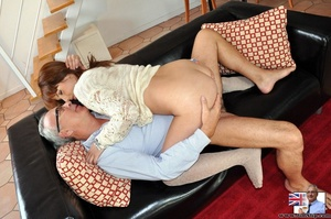Hot sexual action as horny red hair knee - XXX Dessert - Picture 6